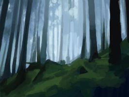 speedpainting - practice 10 by Miyou-illustration