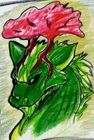 Green draggy by Moose15