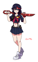 Matoi Ryuko by Elias1986