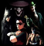 Batman and Robin: Villains by TimDrakeRobin