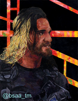 Seth Rollins Painting by Tamayo423