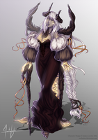 [CLOSED] Demonic Baroness Auction | SB: $30 by Valkymie