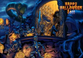 Happy Halloween 2011 by Maxnethaal