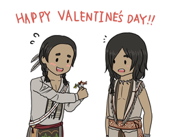 AC3- Happy Valentines 2013 by kakaleng1