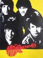 The Monkees by Mazzi294