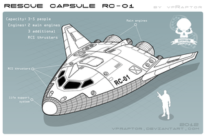 Rescue Capsule RC-01 by vpRaptor