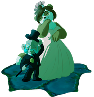 Ms. and Mr. Noblegarden by MadAlleyCat