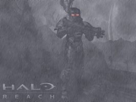 Halo Reach Dark Spartan by PAGANI-F1