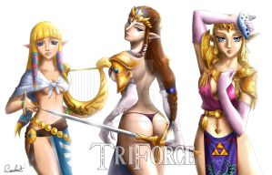 ZeldaForce by MistressAinley