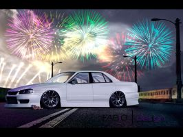 R34 Sedan - Full Brush by brucis21