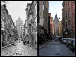 Galata 1925-2007 by VicomtedeValmont
