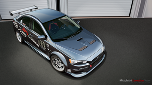 Mitsubishi Lancer Evolution Toon by janmarkelj