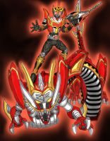 Kamen Rider Ryuki Survive. by GrandZebulon