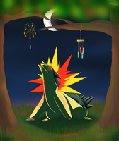 Typhlosion by WolfChagas