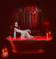 Blood Bath by ziggy90lisa