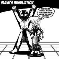 Slave's Humiliation by Bluedragon1974