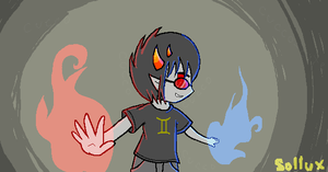 Perspective Practice - Sollux by Cucco-cute