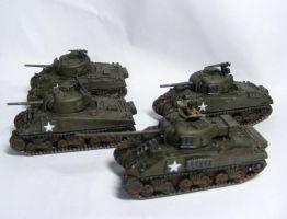 (FoW) 1st Polish Armoured Division (2) by Quenta-Silmarillion
