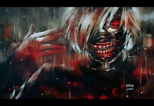 ghoul by NanFe