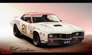 VT - Mercury Cyclone by compaan-art
