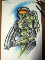 Master Chief Suave by RobDuenas