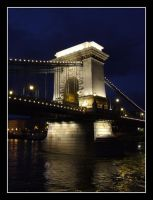 Chainbridge Hungary Budapest by katttinka