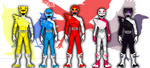 Renverse: Power Rangers Avian Force by TerenceTheTerrible