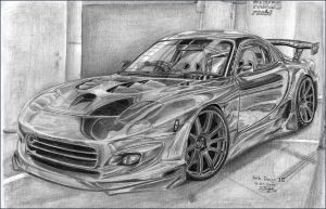 Roobi's Mazda RX7 With Faik by Faik05