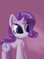 Doodle - Rarity by Drakmire
