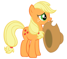Applejack vector by d2xa