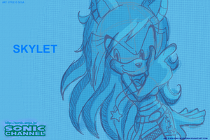 Skylet Sonic Channel by HeavenlyF97