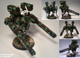 XV88 Broadside Battlesuit by Elmo9141