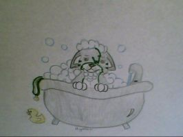I HATE BATHS by miyooliver
