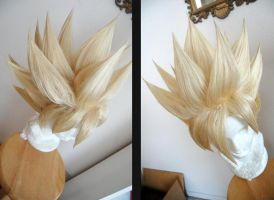 SSJ2 Goku wig commission by maggifan