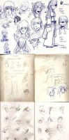 Sketches June '15 by Frey-ofthe-Arcane