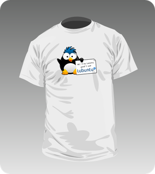 Tshirt White by lubuntuofficial