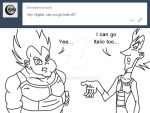 Ask Vegeta 7 by Camron23