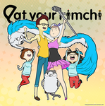 YT: Eat Your Kimchi Adventure Time by mongrelmarie
