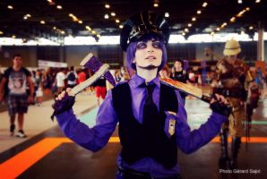 Japan expo 2015 - FNAF cosplay 2 by AlicexLiddell