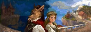 Beauty and  the Beast v1 by jbsdesigns