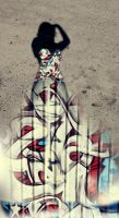 Graffiti Gown Ground by DrPlethora