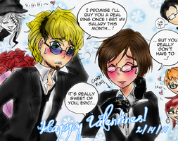 + V-Day for Eric and Alan + by foxy-kyuubi
