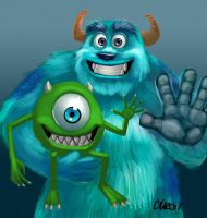 I'm Monsters Incorporated by charco