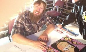 Daniel Bryan - Chibi Surprise Photo! by kapaeme