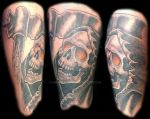 Freehand Forearm Reaper by Mr-Taboo