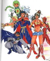 Manga JLA by Nightshade475