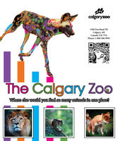 Calgary Zoo Poster by AprilSilverWolf