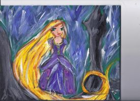 tangled rapunzel by Chyliethecrazy1