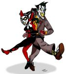 The Joker and Harley Quinn by TheresaLucey