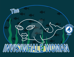 The Invisiwhale Woman by MacNeacail